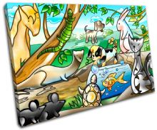 Animals Pets For Kids Room - 13-2135(00B)-SG32-LO